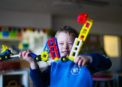 Learning through construction toys